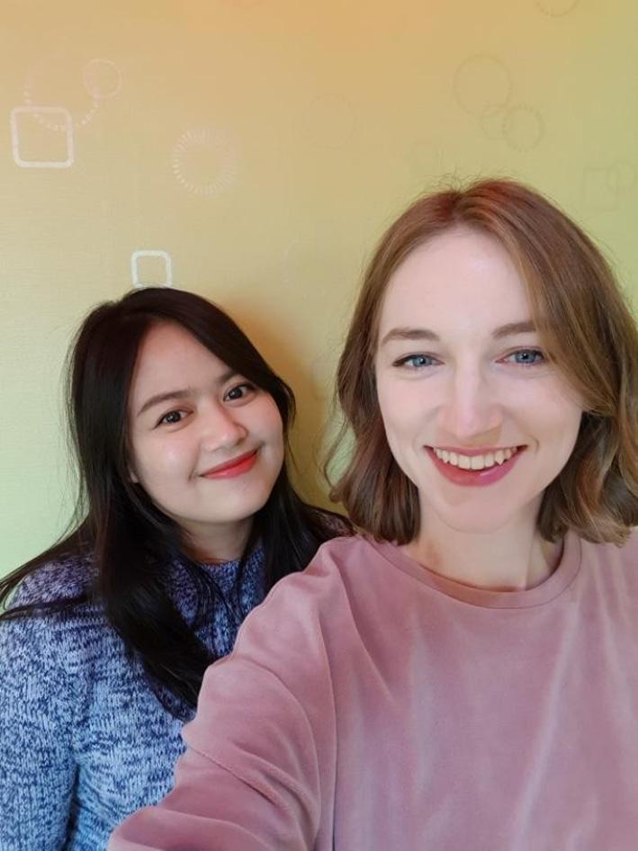 Beste Freundin und Reispartnerin Celeste. © Elena Kubitzki