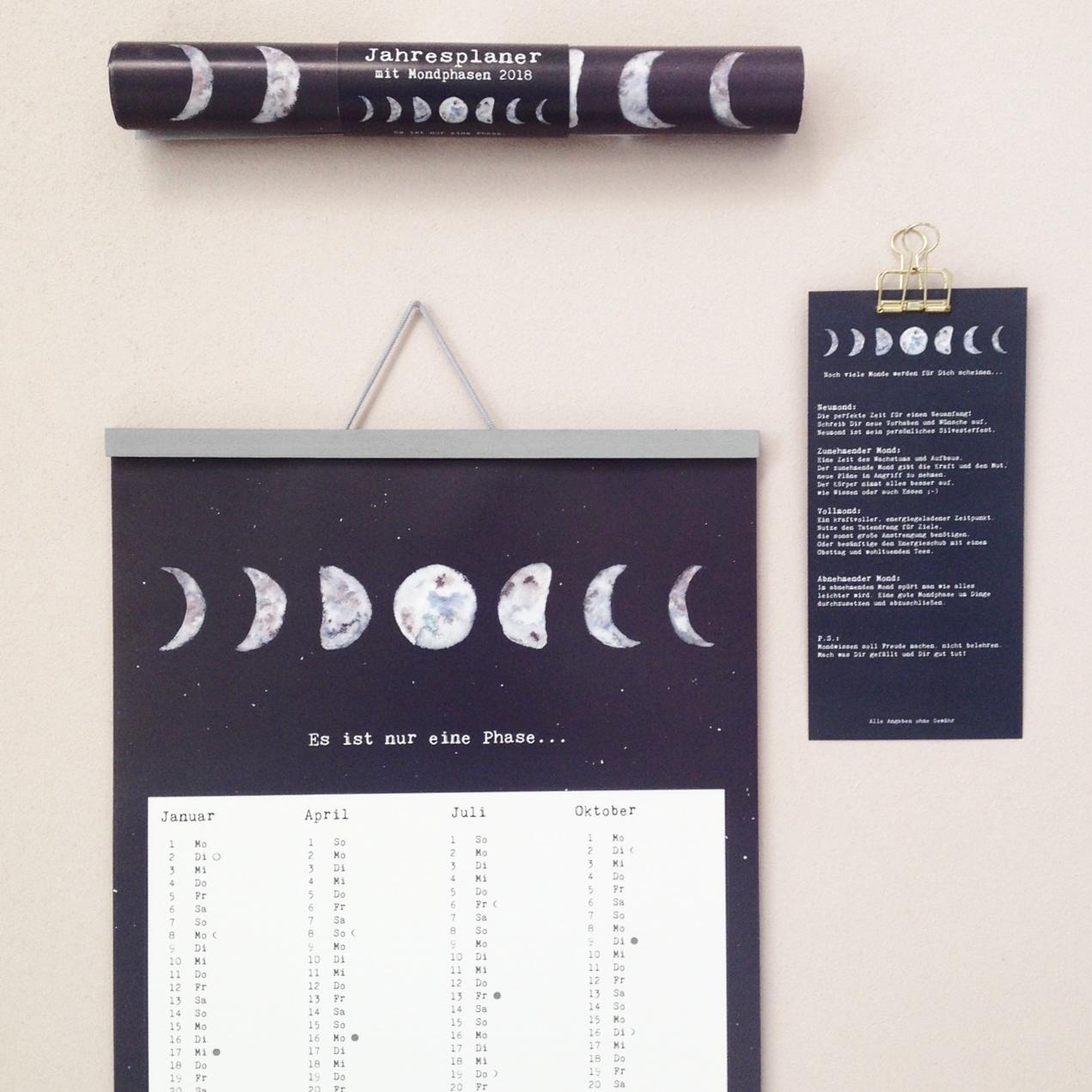 Mondphasen © Anna Cosma