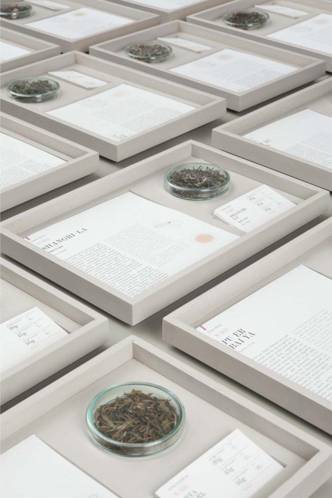In den P&T Stores erfährt jede Teesorte aus dem Sortimenteine besondere Würdigung. Copyright: Paper & Tea, Berlin