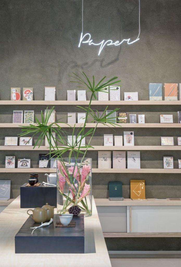 Das Papiersortiment im P&T Store Berlin-Mitte. Copyright: Paper & Tea, Berlin