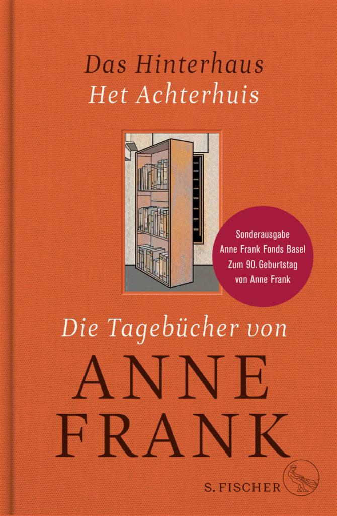 """""""Die Tagebücher von Anne Frank"""" in einer Sonderausgabe anlässlich ihres 90. Geburtstagsjahrs - die originale Vollversion neben der gekürzten Fassung, dazu einführende Texte. S. Fischer, 480 S., 35,-"""