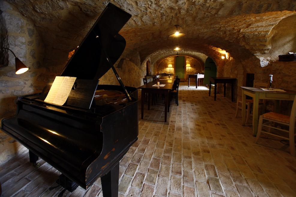 Viel Raum für Kultur: Gewölbe im Hotel Balatura. Copyright: A.-K. Godec