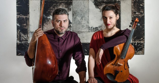 Damir Imamovic und Jelena Poprzan. Copyright: A.-K. Godec
