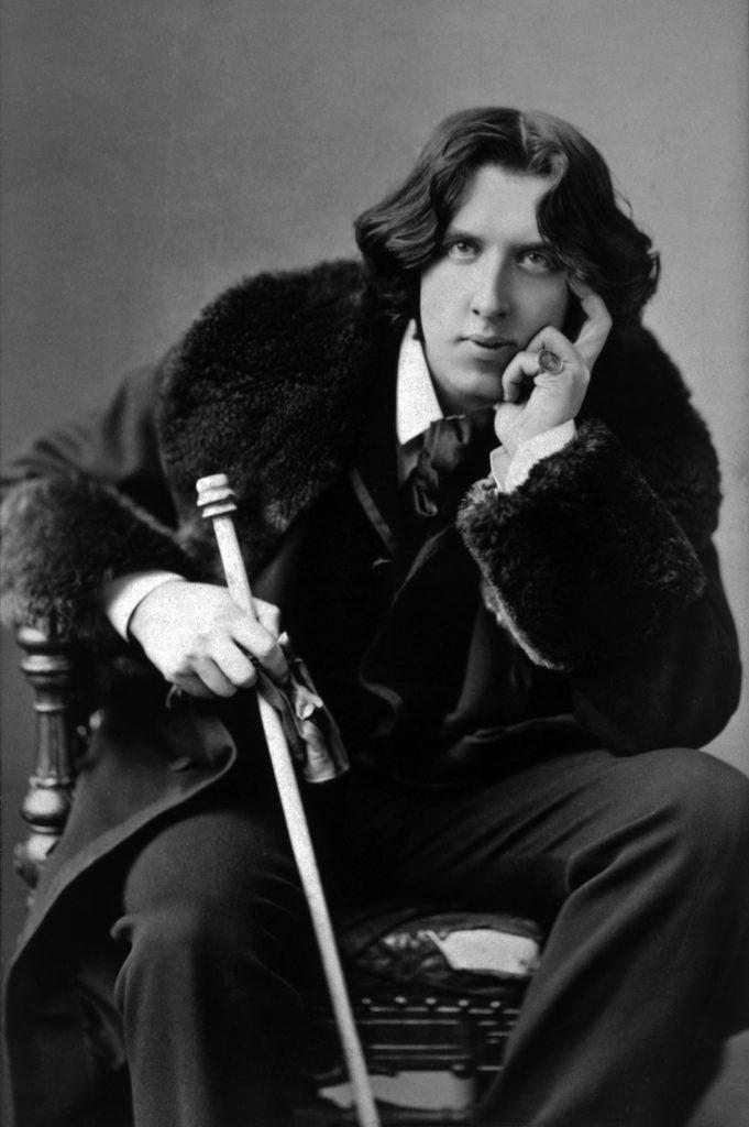 Oscar Wilde, 1882. Copyright: pixabay, janeb13