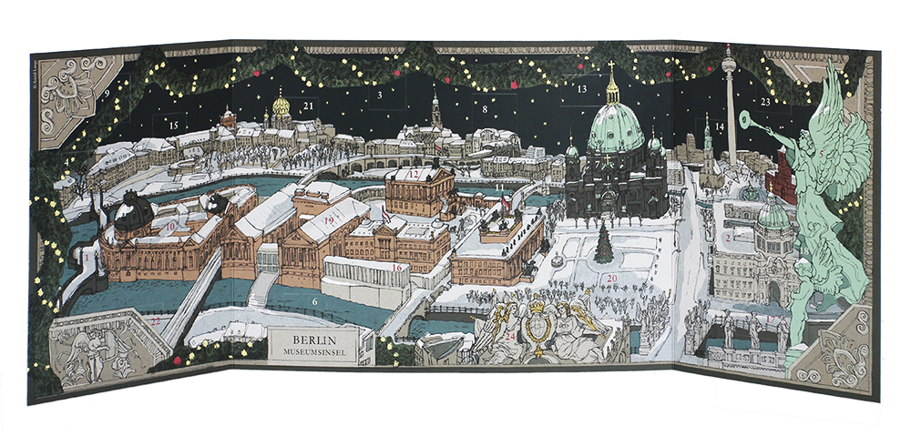 Der Stadt-Adventskalender Berlin Museumsinsel. Copyyright: Astrid Lange