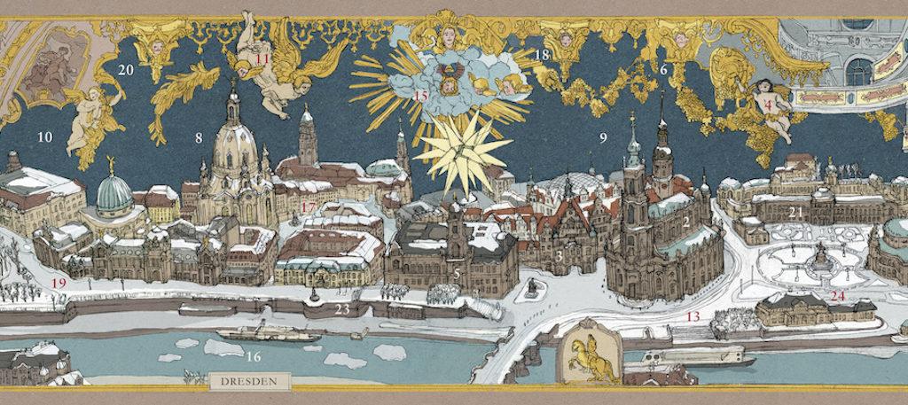 Stadt-Adventskalender Dresden
