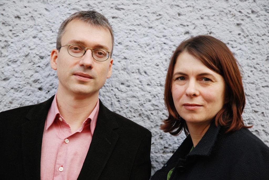 Die Herausgeber Petra Müller und Rainer Wieland. Copyright: Barbara Dietl