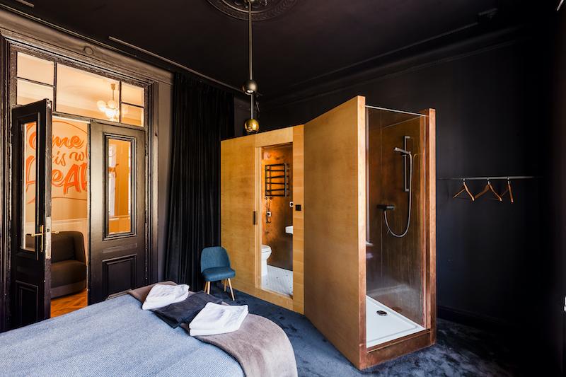 Room 1410, Autor Rooms. Copyright: Basia Kuligowska & Przemek Nieciecki, Warsaw