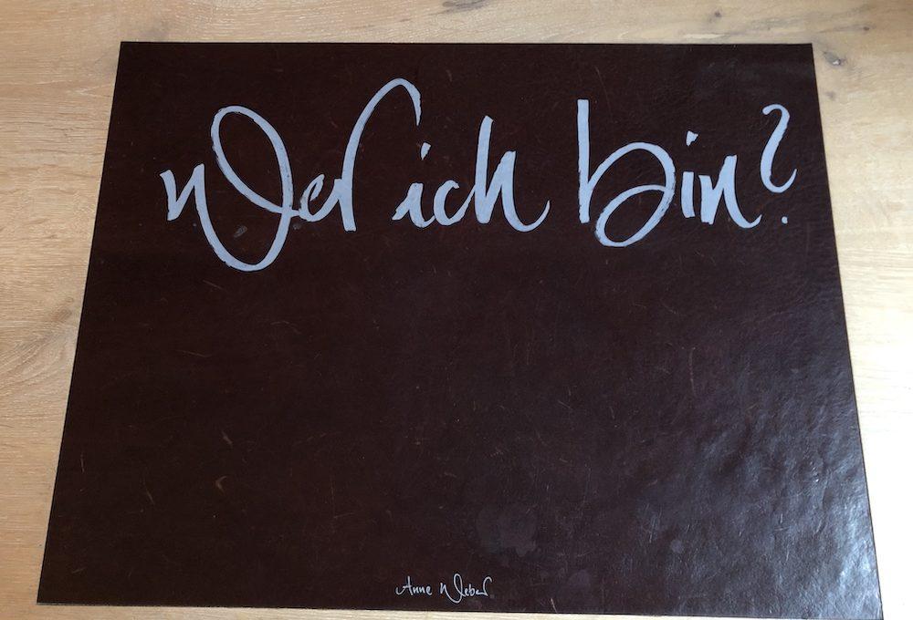 Erster Satz aus Anne Weber, Kirio. Credits: Hotel Wedina